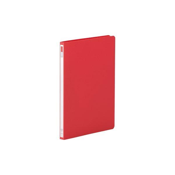 (まとめ)リヒトラブ スナッチファイル A4タテ140枚収容 背幅19mm 赤 F-527-1 1冊 【×20セット】