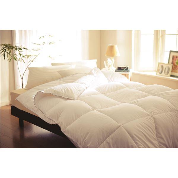 高保温性 掛け布団/寝具 【2枚合わせ ダブル】 190×210cm 洗える 『プリマロフト デュオ』 〔ベッドルーム 寝室〕