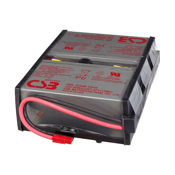 オムロン UPS交換用バッテリパックBU100RW用 BUB100R 1個