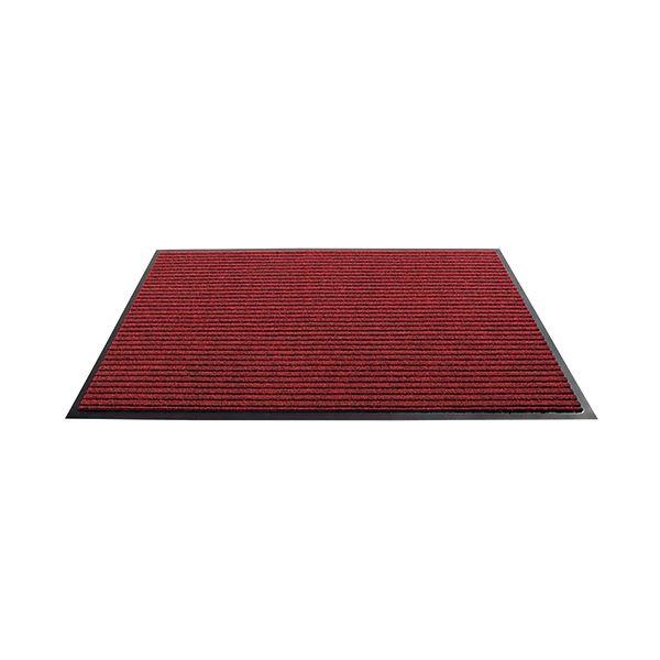(まとめ) 3M ノーマッド カーペットマット3100 900×600mm レッド N3 RED 900X600T 1枚 【×5セット】 赤