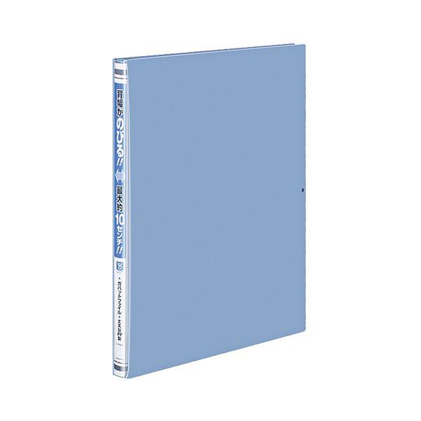 (まとめ) コクヨ ガバットファイル(活用タイプ・PP製) A4タテ 1000枚収容 背幅15~115mm 青 フ-P90B 1冊 【×30セット】