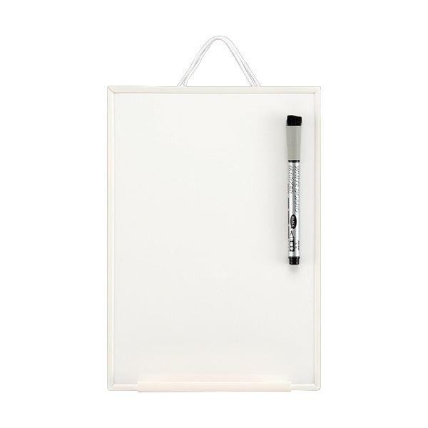 (まとめ)レイメイ藤井 オフホワイトボード A5 LNW906 1枚【×10セット】 白