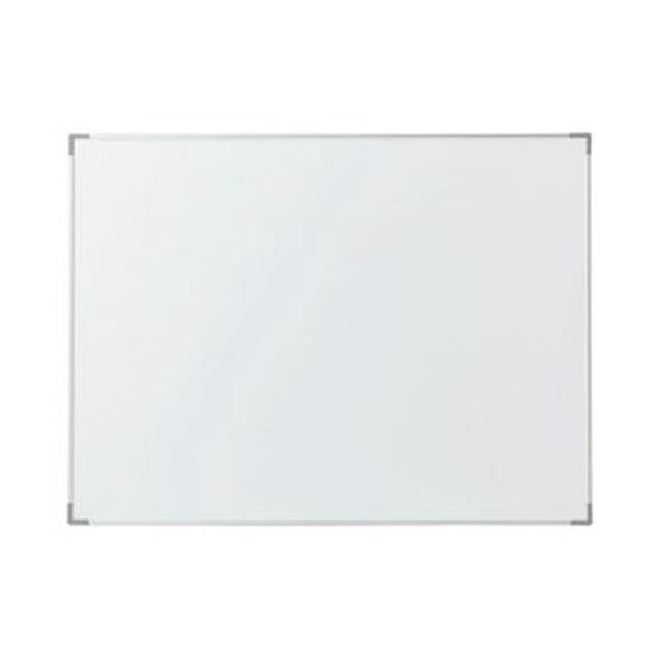 (まとめ)TANOSEE アルミホワイトボードW600×H450mm 1枚【×5セット】 白