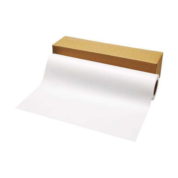 (まとめ) TANOSEE PPC パソコン ・LEDプロッタ用普通紙ロール A1(594mm×100m) 3インチ紙管テープ止め 1本 【×5セット】