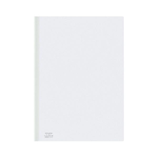 (まとめ) コクヨ レールクリヤーホルダー A4タテ20枚収容 白 フ-760NW 1セット(5冊) 【×30セット】