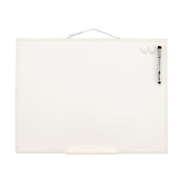 (まとめ)レイメイ藤井 オフホワイトボード A2LNW2406 1枚【×5セット】 白