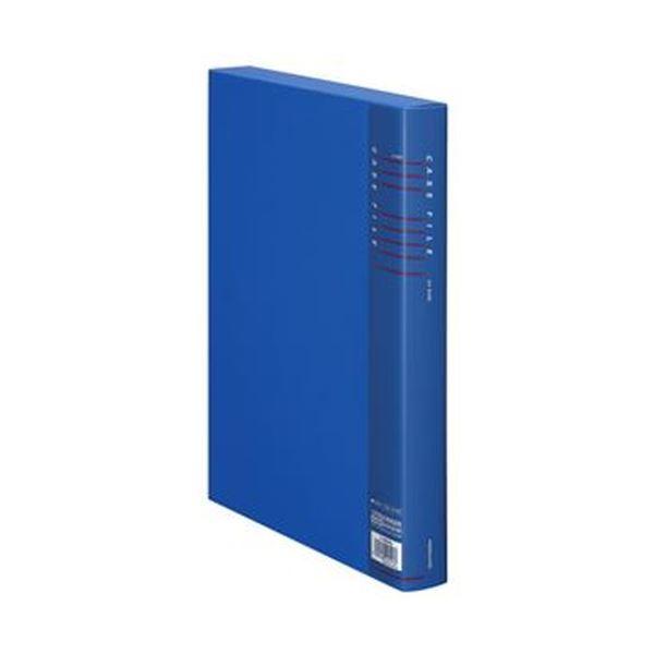 (まとめ)コクヨ ケースファイル A4背幅35mm 青 フ-930NB 1セット(5冊)【×3セット】
