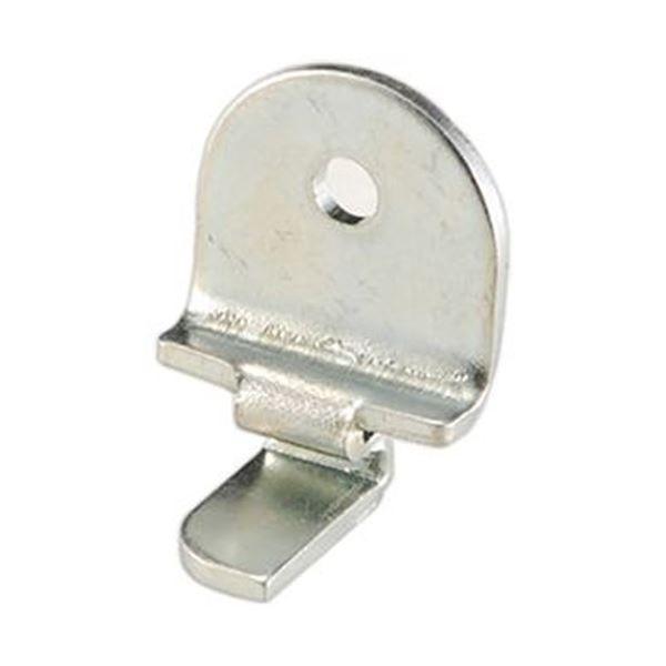 (まとめ)馬印ホワイトボード用下部固定金具(A-6)1個【×5セット】 白