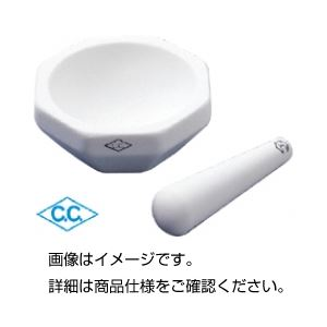(まとめ)アルミナ乳棒 HD-1-B 120mm【×10セット】