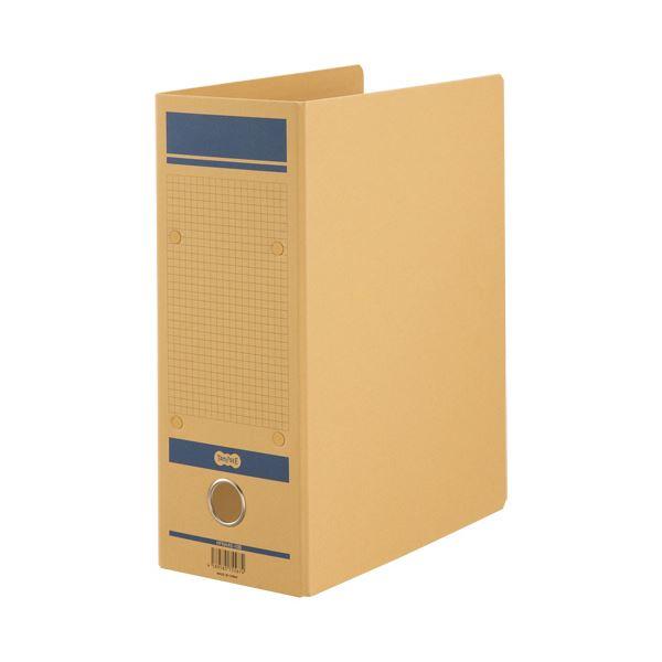 TANOSEE保存用ファイルN(片開き) A4タテ 1000枚収容 100mmとじ 青 1セット(24冊)