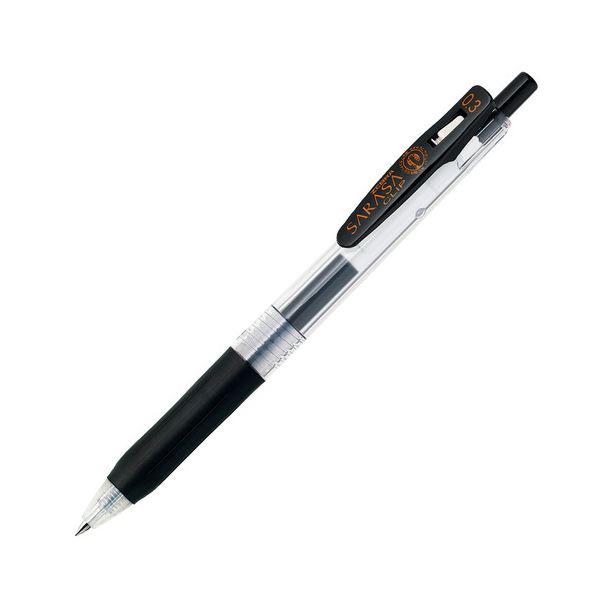 (まとめ) ゼブラ ゲルインクボールペン サラサクリップ 0.3mm 黒 JJH15-BK 1本 【×100セット】