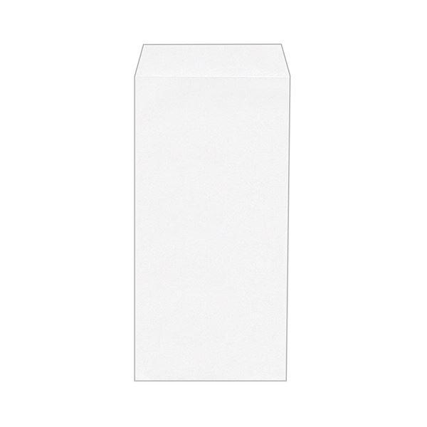 (まとめ) ハート 透けない封筒 ケントワンタッチテープ付 長3 80g/m2 〒枠なし XEP244 1セット(500枚:100枚×5パック) 【×5セット】