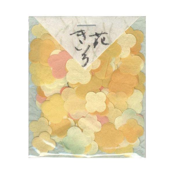 (まとめ)貼り絵 805016-3 きいろ花【×30セット】