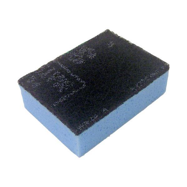 (まとめ)キクロン スポンジたわし キクロンC ブルー【×50セット】 青