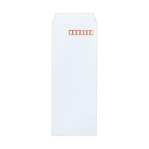 (まとめ) ピース R40再生ケント封筒 長4080g/m2 〒枠あり ホワイト 448-80 1箱(1000枚) 【×5セット】 白