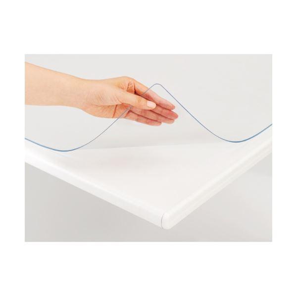 (まとめ) プラス あんしんデスク (テーブル 机) マット シングル600×450mm DM-010A 1枚 【×10セット】