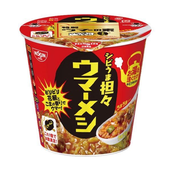 (まとめ)日清食品 日清ウマーメシ シビうま坦々103g 1ケース(6食)【×5セット】