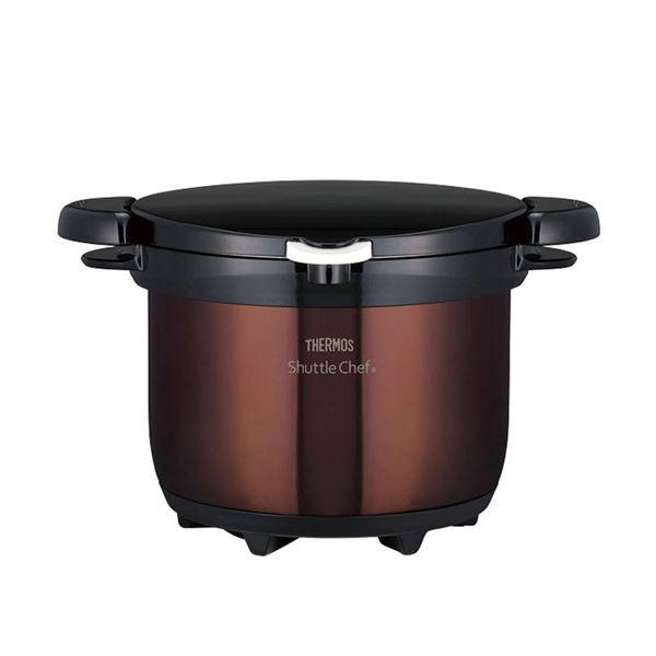 セール 特集 3 即日出荷 真空保温調理器シャトルシェフ KBG-3000 クリアブラウン 茶
