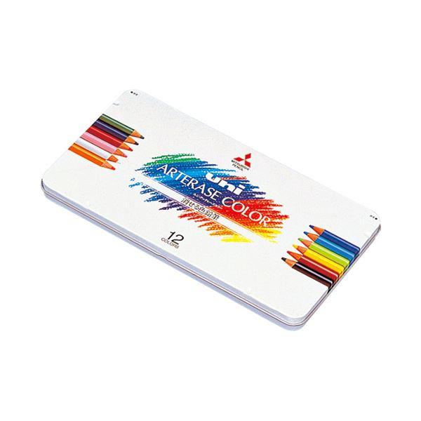 (まとめ)三菱鉛筆 ユニ アーテレーズカラー12色 UAC12C【×5セット】