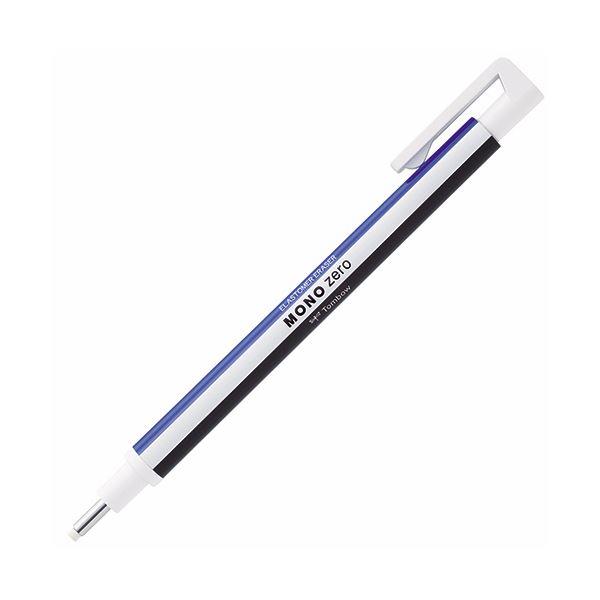 (まとめ) トンボ鉛筆 ホルダー消しゴム モノゼロ丸型 (円形 ラウンド) EH-KUR 1個 【×30セット】