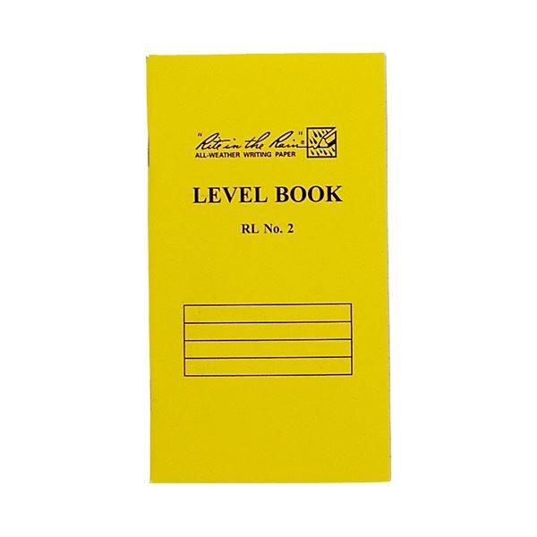 (まとめ)オーストリッチ 測量野帳 RLNO2 イエロー表紙【×30セット】 黄