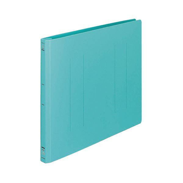 (まとめ) コクヨ フラットファイル(PP) B4ヨコ 150枚収容 背幅20mm 緑 フ-H19G 1セット(10冊) 【×5セット】