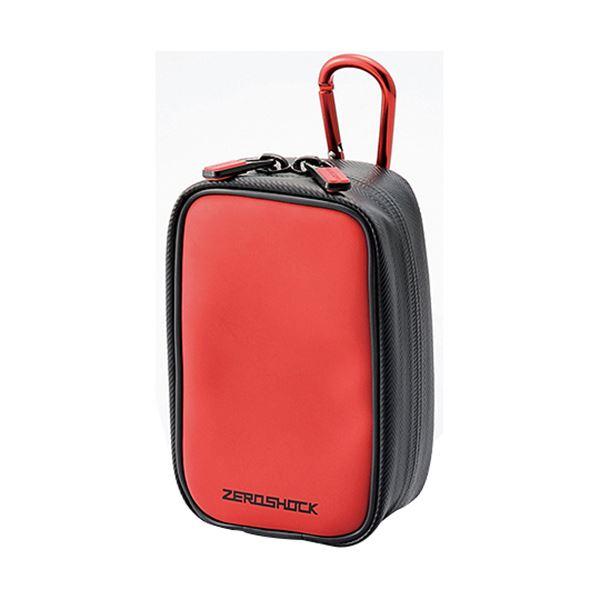 (まとめ) ZEROSHOCKカメラケースW83×D50×H135mm レッド ZSB-DG014RD 1個 【×10セット】 赤