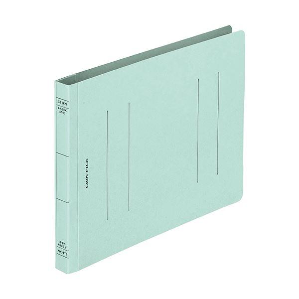 (まとめ)ライオン事務器 フラットファイルA5ヨコ 150枚収容 背幅18mm ブルー CS-A538E-3P 1パック(3冊) 【×30セット】 青
