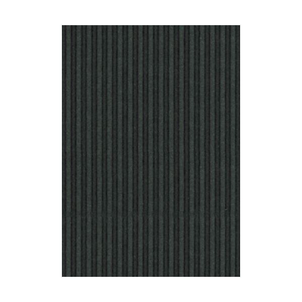 (まとめ) ヒサゴ リップルボード 薄口 A4ブラック RBU09A4 1パック(3枚) 【×50セット】 黒