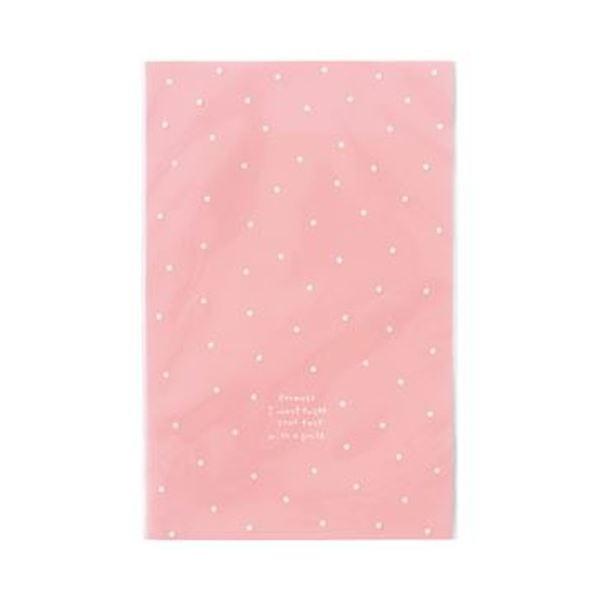 (まとめ)ヘッズ ドットOPPギフトバッグ Sピンク DT-O4 1パック(50枚)【×20セット】