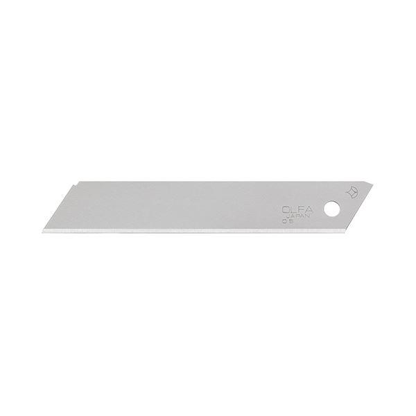 (まとめ) オルファ 折線なし替刃 大 LB50K-OSN 1ケース(50枚) 【×10セット】