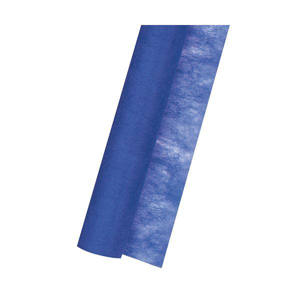 (まとめ) ササガワ 不織布 Jロール700mm×20m 青 49-9009 1巻 【×10セット】