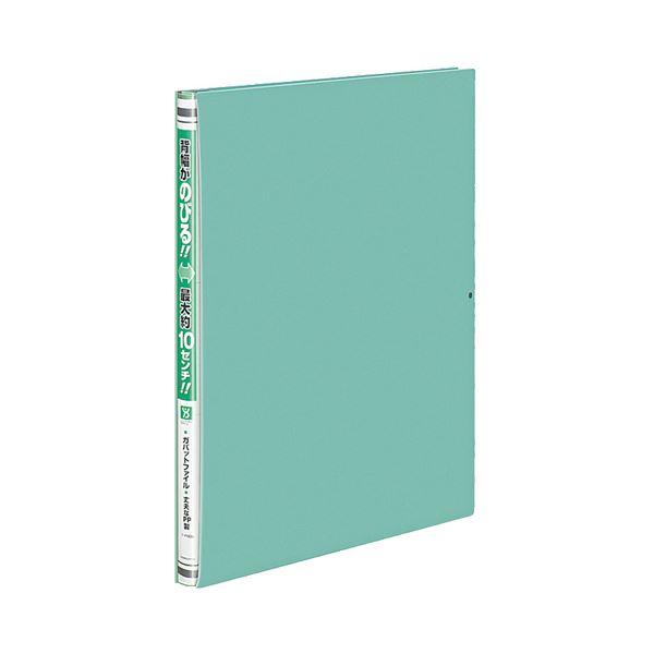 (まとめ) コクヨ ガバットファイル(活用タイプ・PP製) A4タテ 1000枚収容 背幅15~115mm 緑 フ-P90G 1冊 【×30セット】