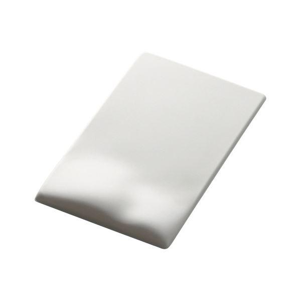 (まとめ)エレコム 疲労軽減マウスパッドFITTIO(Low) ホワイト MP-115WH 1枚【×2セット】