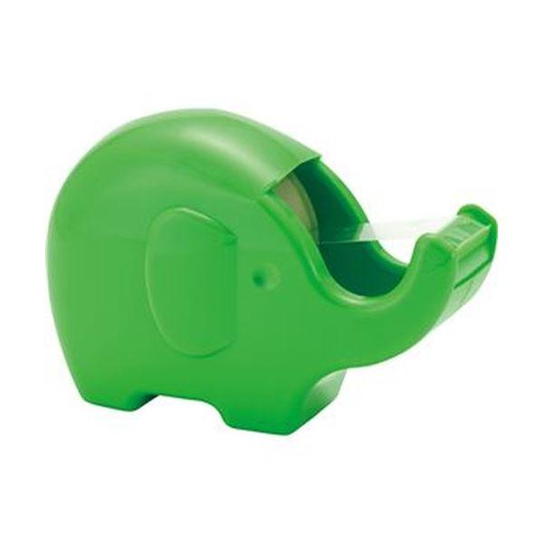 (まとめ)ニチバン セロテープ ぞうさんカッター 15mm×8m フレッシュグリーン CT-15ZOFG 1個【×50セット】 緑