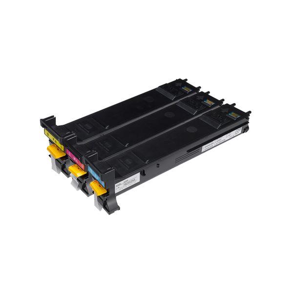 コニカミノルタ大容量 大型 カラートナーカートリッジ バリューパック A0DKJ72 1箱(3個:各色1個)