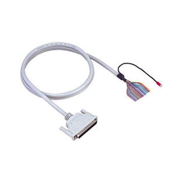 (まとめ)コンテック 37ピンD-SUBコネクタ用片側コネクタ付シールドケーブル 配線 PC パソコン A37PS-1.5P 1個【×3セット】
