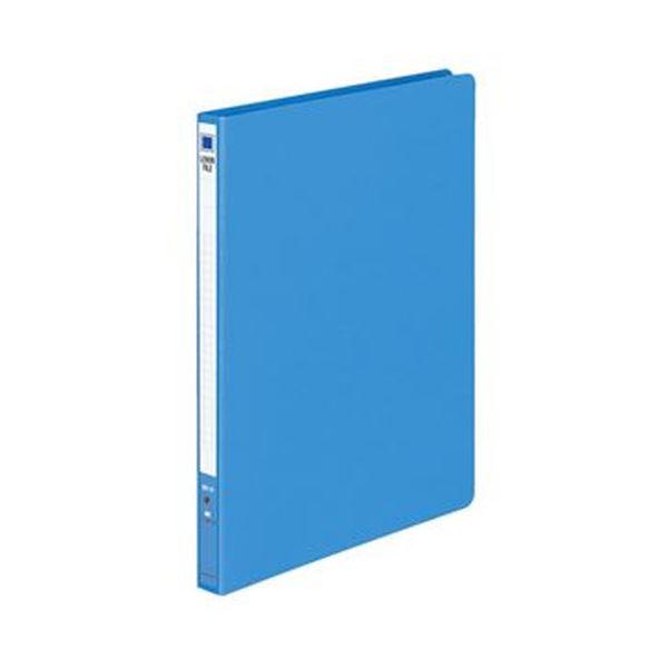 (まとめ)コクヨ レバーファイル(MZ)B5タテ100枚収容 背幅20mm 青 フ-301NB 1セット(10冊)【×3セット】