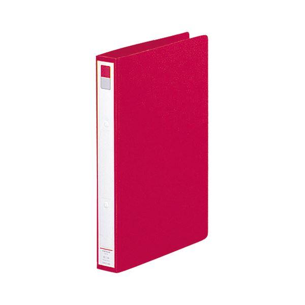 (まとめ) リヒトラブ Avanti リングファイル(カドロック&ツイストリング) A4タテ 2穴 200枚収容 背幅36mm 赤 F-877U-3 1冊 【×30セット】