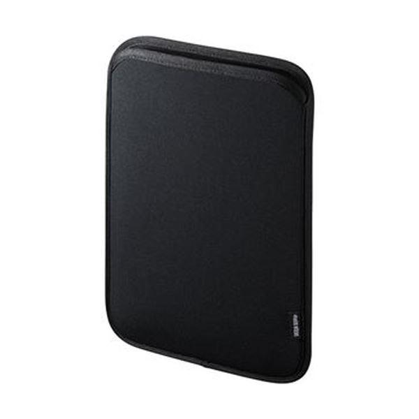 (まとめ)サンワサプライネオプレンスリップインタブレットPCケース 10.1型 PDA-TABS10BKN 1個【×5セット】