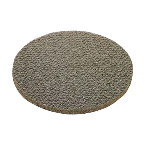 (まとめ)山崎産業(ポリシャー用パッド)シックラインフロアパッド9緑(表面洗浄用) E-16-9-G 1パック(5枚)【×3セット】