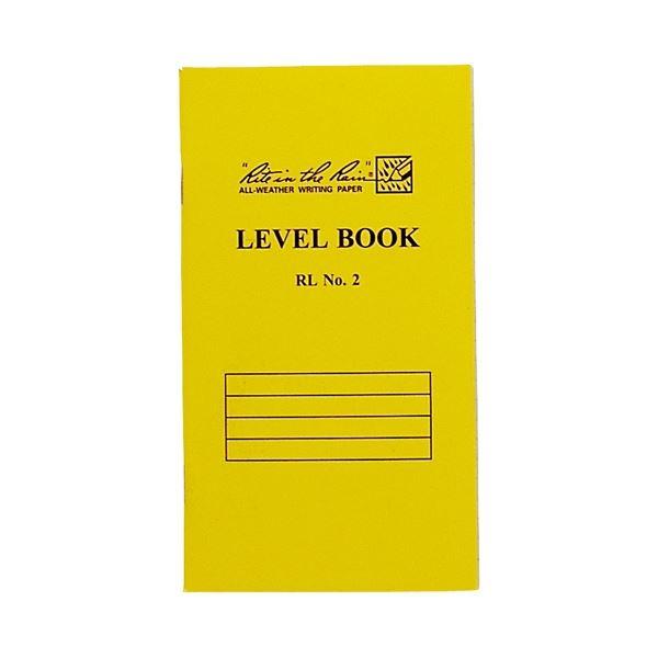 (まとめ)オーストリッチ 測量野帳 RLNO2 イエロー表紙【×5セット】 黄