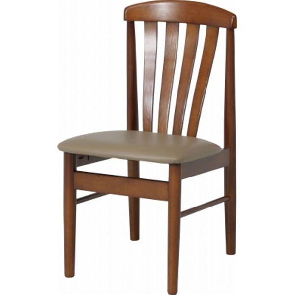 ダイニングチェア ダイニング用チェア イス 食卓 椅子 ー 6267【2脚セット】 ブラウン 茶