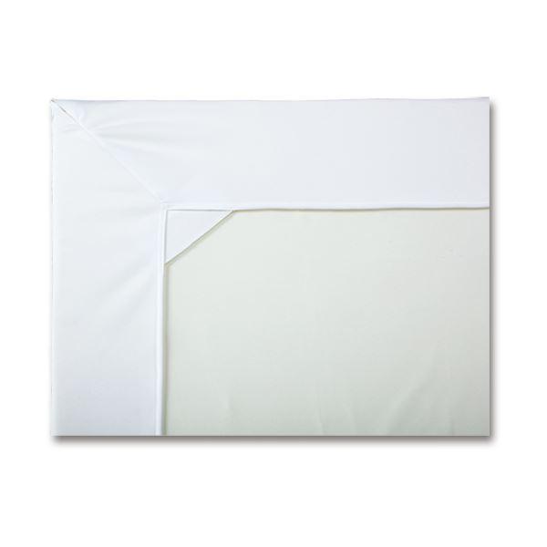 カネモ商事 Lor防水シーツ ボックス型マットカバータイプ ホワイト 1セット(3枚) 白