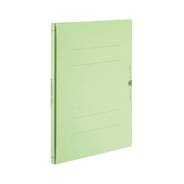 (まとめ) コクヨ ガバットファイル(活用タイプ・紙製) A4タテ 1000枚収容 背幅14~114mm 緑 フ-VA90G 1冊 【×30セット】