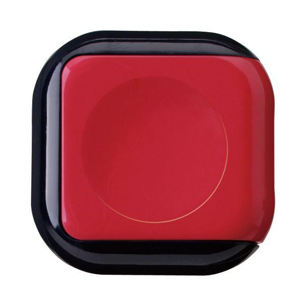 (まとめ) サンビー 朱肉 シュイングベベ ローズレッド SG-B02 1個 【×30セット】 赤