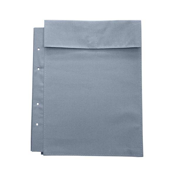 (まとめ)マービー 布図面袋A4整理 収納 4穴ハトメ無014-0168マチ3cm【×30セット】