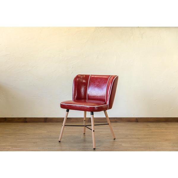 Donovanダイニングチェア ダイニング用チェア イス 食卓 椅子 レッド(RD) 赤