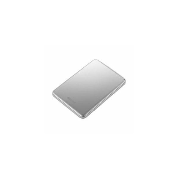 BUFFALO USB3.1(Gen1)/USB3.1 ポータブルHDD 1TB シルバー HD-PUS1.0U3-SVD