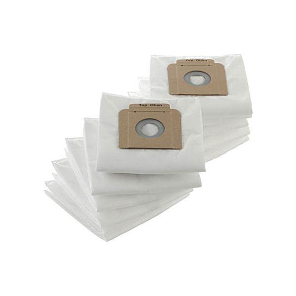 (まとめ)TRUSCO 合成繊維フィルターバックTKC-1200F 1パック(10枚)【×3セット】